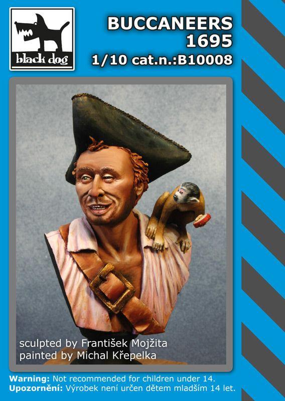 B10008 Buccaneers 1695 Blackdog