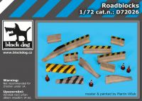 D72026 1/72 Roadblocks