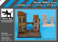 D72031 1/72 Street wwII base Blackdog