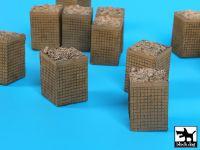D72034 1/72 Sandbag armored wall (HESCO) 3 Blackdog