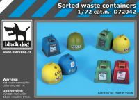 D72042 1/72 Waste containers
