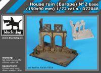 D72048 172 House ruin Europe N°2 base