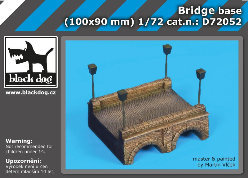 D72052 1/72 Bridge base Blackdog