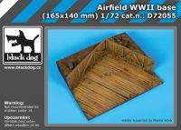 D72055 1/72 Airfield WW II base