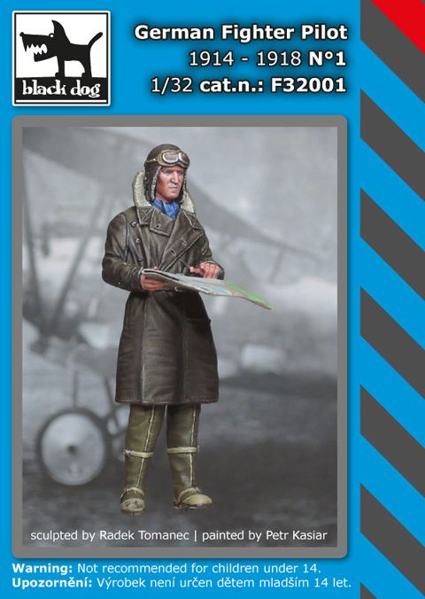 F32001 1/32 Fighter Pilot 1914-1918 N°1 Blackdog