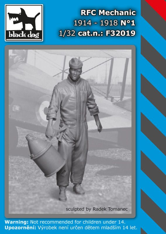 F32019 1/32 RFC mechanic N°1 Blackdog