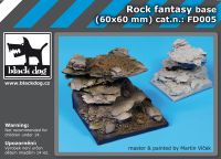 FD005 Rock fantasy base