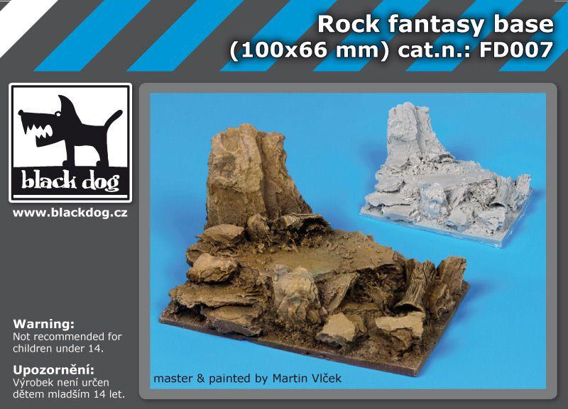 FD007 Rock fantasy base Blackdog