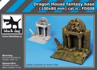 FD008 Dragon house fantasy base