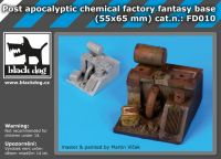 FD010 Post apocalyptic chemical factory fantasy base