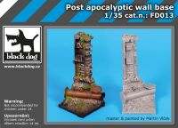FD013 Post apocalyptic wall base