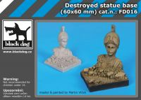 FD016 Destroyed statue base Blackdog