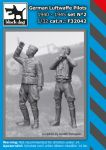F32042 1/32 German Luftwaffe pilot set N°2 1940-1945 Blackdog