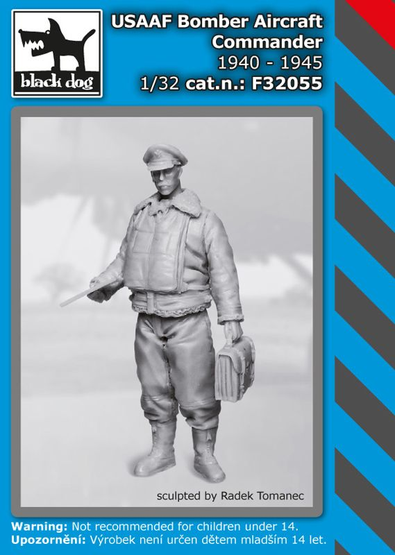 F32055 1/32 USAAF Bomber Aircraft Commander 1940-45 Blackdog