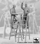 F32060 1/32 Mechanics personnel USAAF 1940-45 set Blackdog