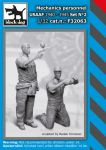 F32063 1/32 Mechanics personnel USAAF 1940-45 set N°2 Blackdog
