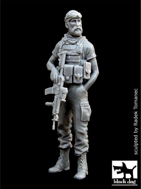 F35002 1/35 US special force in Afganistan Blackdog
