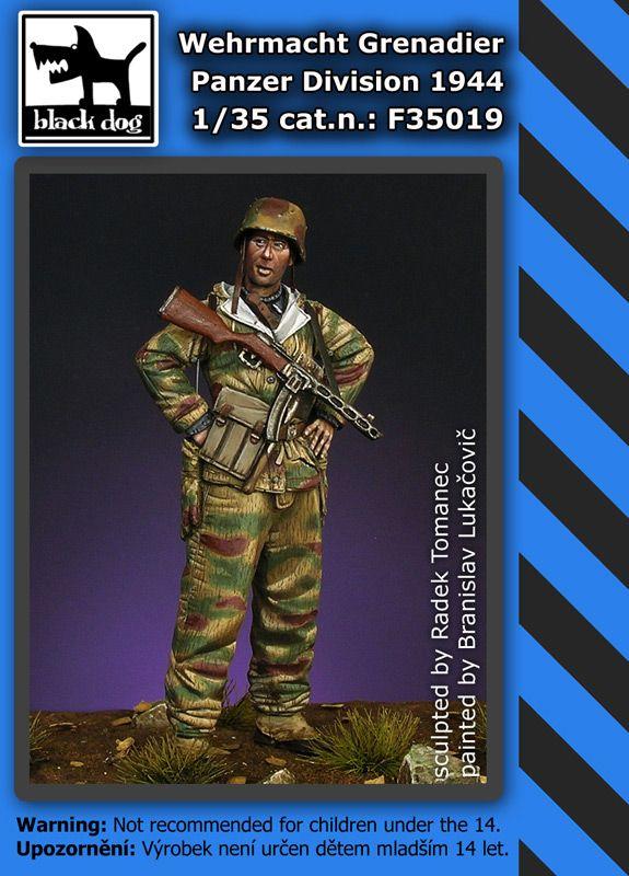 F35019 1/35 Wehrmacht grenadier 1944 Blackdog