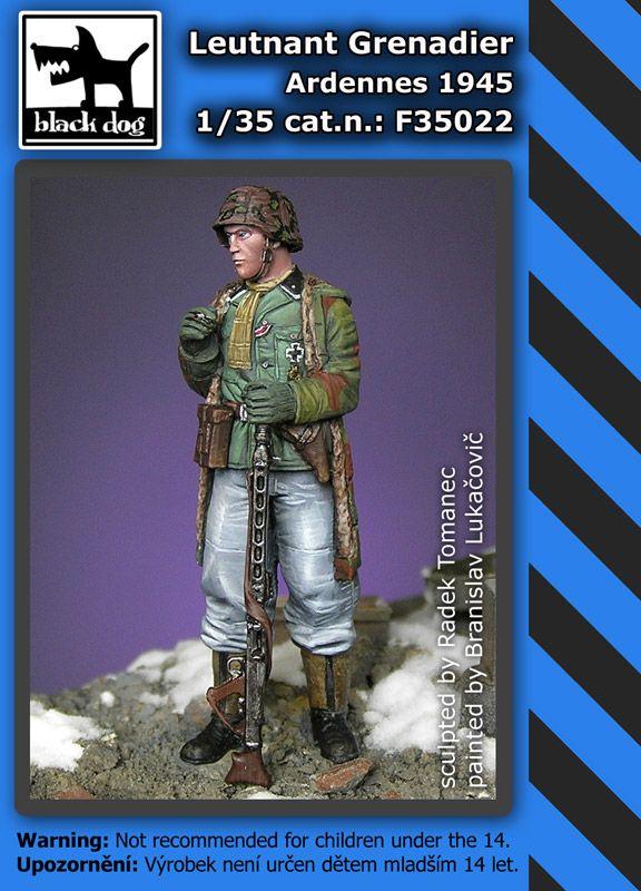 F35022 1/35 Leutnant grenadier Ardennes 1945 Blackdog