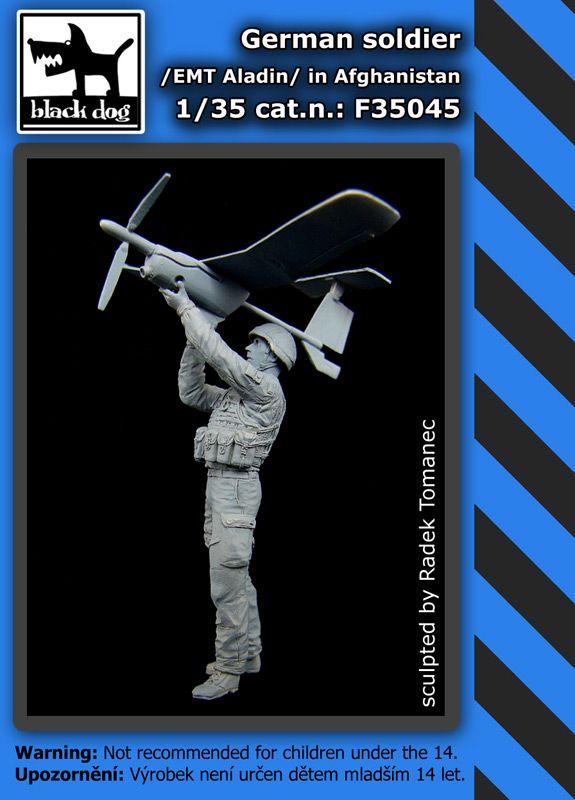 F35045 1/35 German soldier/EMT Aladin/Afghanistan Blackdog