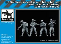 F35081 1/35 US soldiers special group team big set Blackdog
