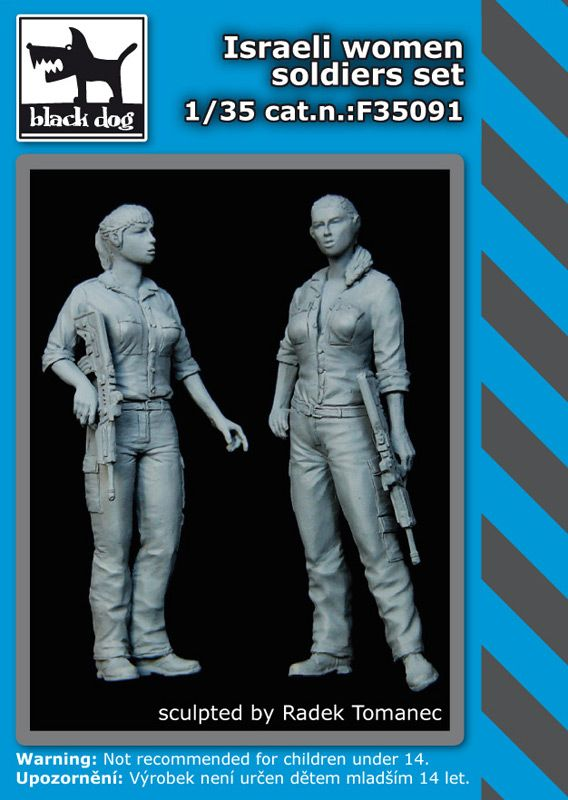 F35091 1/35 Israeli woman soldiers set Blackdog