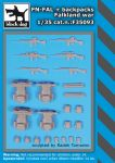 F35093 1/35 FN-FAL plus backpacks Falkland war Blackdog