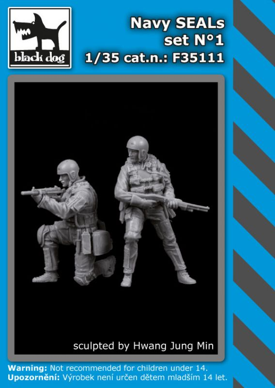 F35111 1/35 Navy Seals set N°1 Blackdog