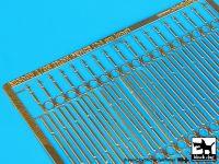 E35003 1/35Iron railing Blackdog