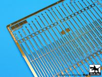 E35005 1/35 Iron gate with fence (16 cm long) Blackdog