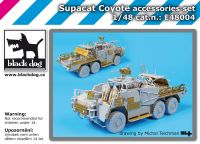 E48004 1/48 Supacat Coyote accessories set