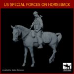 F35123 1/35 US Special forces on horse Blackdog