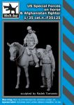 F35125 1/35 US Special forces on horse+Afghanistan fighter
