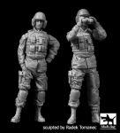F35137 1/35 US modern tank crew set Blackdog