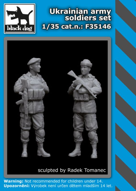 F35146 1/35 Ukrainian army soldiers set Blackdog