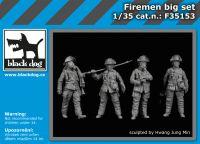 F35153 1/35 Firemen big set