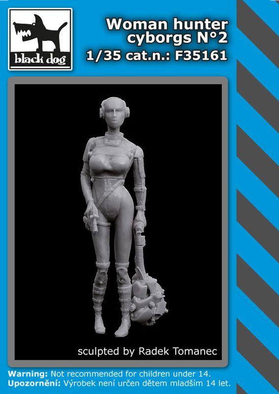 F35161 1/35 Woman hunter cyborgs N°2 Blackdog