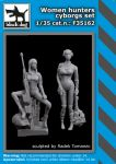 F35162 1/35 Woman hunters cyborgs set