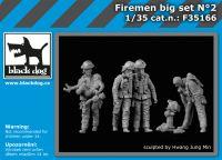 F35166 1/35 Firemen big set N°2