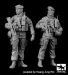 F35175 1/35 French patrol Paris 2016 SET Blackdog
