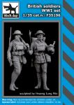 F35196 1/35 British soldiers WWI set
