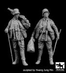 F35199 1/35 German soldiers WWI set Blackdog
