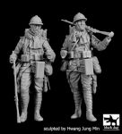 F35202 1/35 French soldiers WWI set Blackdog