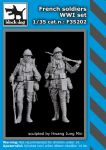 F35202 1/35 French soldiers WWI set