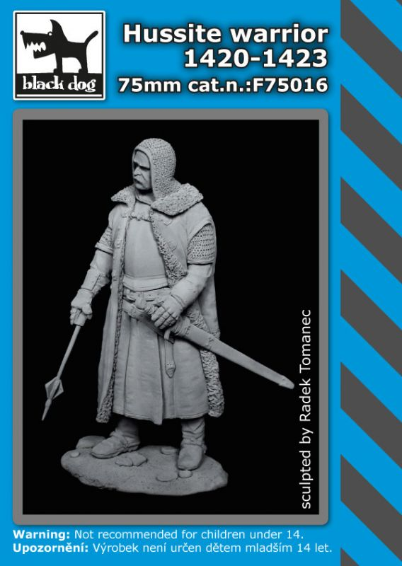 F75016 5mm Hussite warrior Blackdog