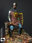 F75019 75mm Medieval Knight 15Th Century Blackdog