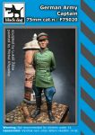 F72020 75mm German Army Captain Blackdog