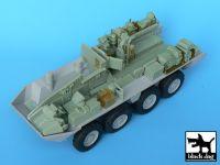 T35001 1/35 M1126 Stryker (ICV) interior Blackdog