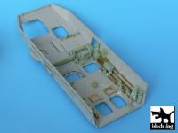 T35001 1/35 M1126 Stryker (ICV) interior Blackdog