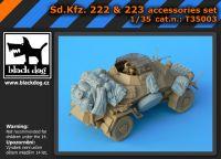 T35003 1/35 Sd.Kfz. 222 & 223 accessories set Blackdog